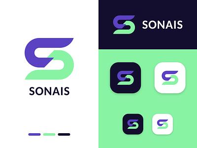 S letter logo letter s logotype logos initial app icon branding identity mark monogram design logo inkscape