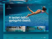 Harkany Spa website