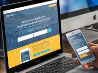 RightJobNow Web App UI