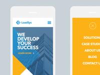 LoadSys Mobile Website