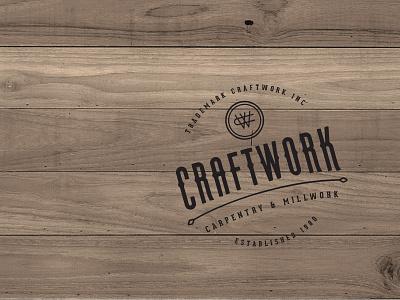 CraftWork Brand Stamp stamp logo branding