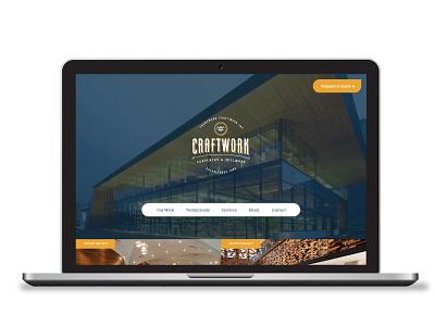 CraftWork Branding and Web Design logo branding website design
