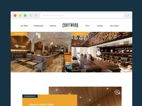 CraftWork Interior Web Page Layout