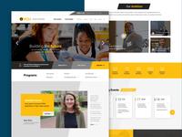 VCU SOE homepage mockup