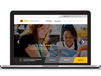 VCU School of Education Web Design Mockup