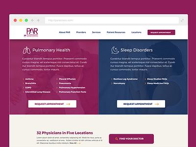 PAR Website Design design website