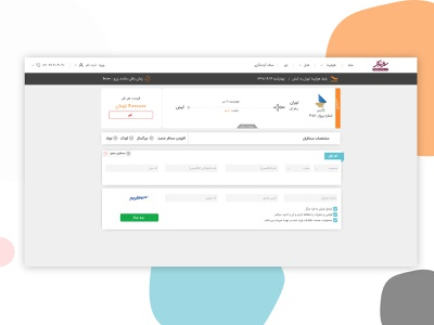 Passenger Information Form design travel agency software