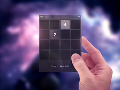 2048 for Photoshop 2048 adobe os photoshop plugin game hand april fools