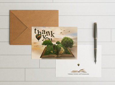 English Department Thank You Card Project