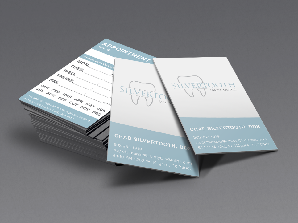 Logo and Appointment Card design branding logo