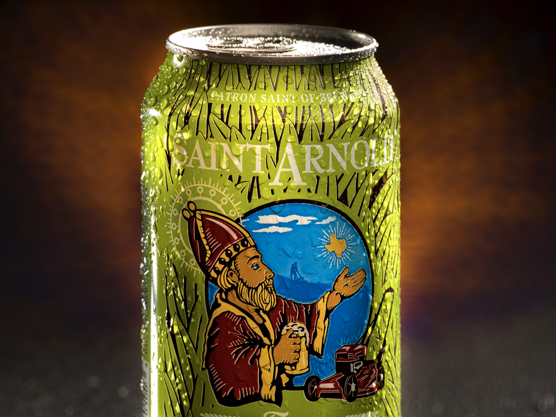 Photography for Saint Arnolds Brewery photography