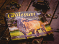 Photo featured on the cover of The Cattleman