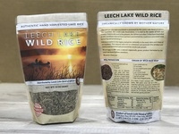 Leech Lake Wild Rice Package Design