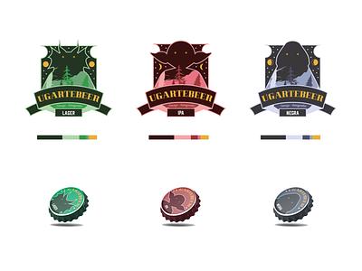 UGARTEBEER brand graphic design graphicdesign beer design brand identity brand design branding
