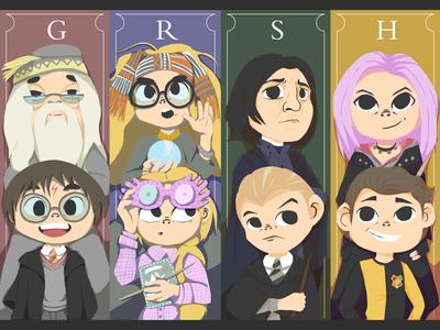 Harry Potter Bookmark Designs