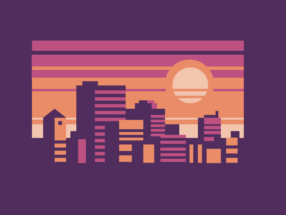 Purple Space ui design illustration dailyui