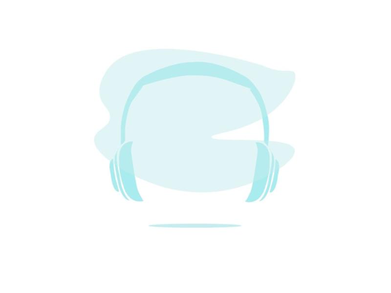 HeadPhones illustration illustrator