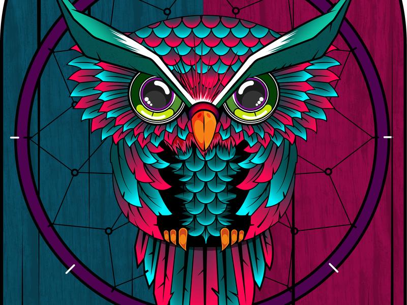 Owl iconaday graphicdesign flat thedesignfix pirategraphic inkwash illustrationoftheday gfxmob adobeillustrator visualdevelopement vectorart vector sketch illustration-daily illustration drawing design creative artwork inspiration adobe