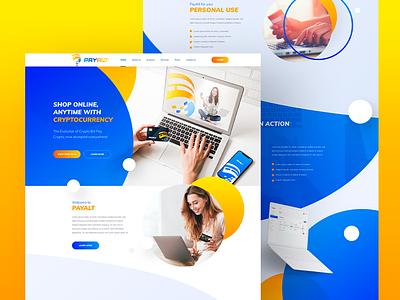 Website Design for a Payment Platform wordpress ux design web design and development web development company web design ui web development