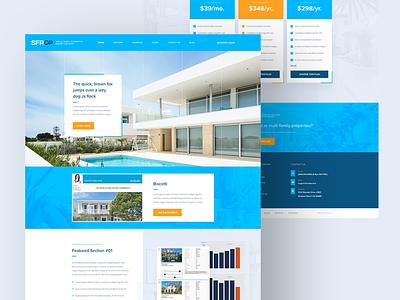 SFROP wordpress ux mockup design design web design and development web development company ui web design web development