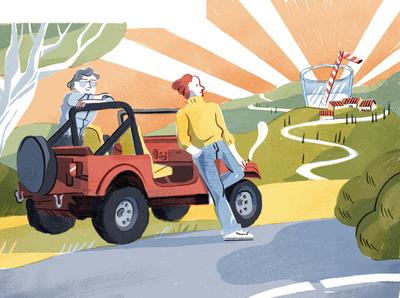 Tutto Libri, La Stampa illustration illustrazione magazine illustration presse illustrazione per magazine illustrazione per quotidiani editorial illustration