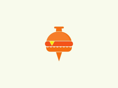 Burger Pin logo mark minimalist logo applogo foodlogo pinicon burgericon fastfood creativelogo burgerlogoideas burgercompany burgertown burgershoup resturent logo restaurant pin logo burger pin burger king burgers burger burger logo