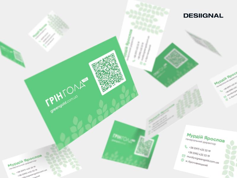 Business card for Greengold marketing desiignal designer design identity brand design branding print design print card design business cards business card