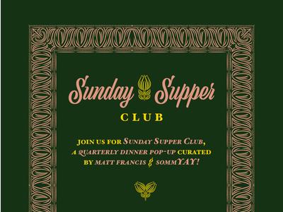 Supper Club Invite