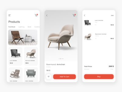 Furniture Store App - Personal Project