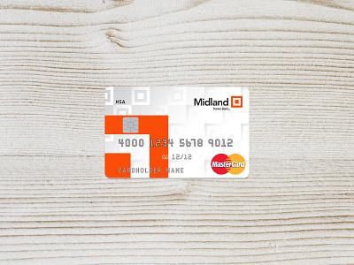Bank Health Savings Card bank card branding brand design savings credit cards credit card debit card money health savings banking bank