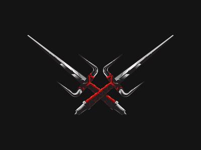 Raphael Sais sword raphael t-shirt design ninja turtles tmnt sai vector artwork illustrator illustration vector art vector