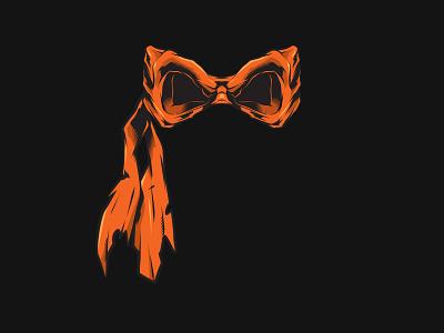 Michelangelo Mask teenage mutant ninja turtles mask ninja turtles tmnt michelangelo design illustrator illustrate vector artwork vector art vector