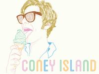 Coney Island Portrait