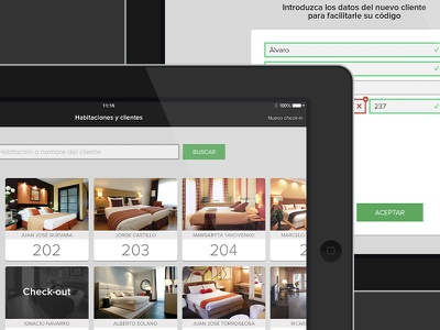 Concierge for iPad concierge ios ios7 ios 7 houssing hotel administrative