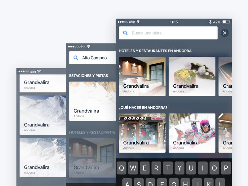 Snowcheck – Search system and results comments profile register login grid tripadvisor foursquare snowforecast snow iphone ios snowcheck