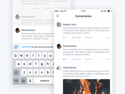 Snowcheck –Comments and interactions comments profile register login grid tripadvisor foursquare snowforecast snow iphone ios snowcheck