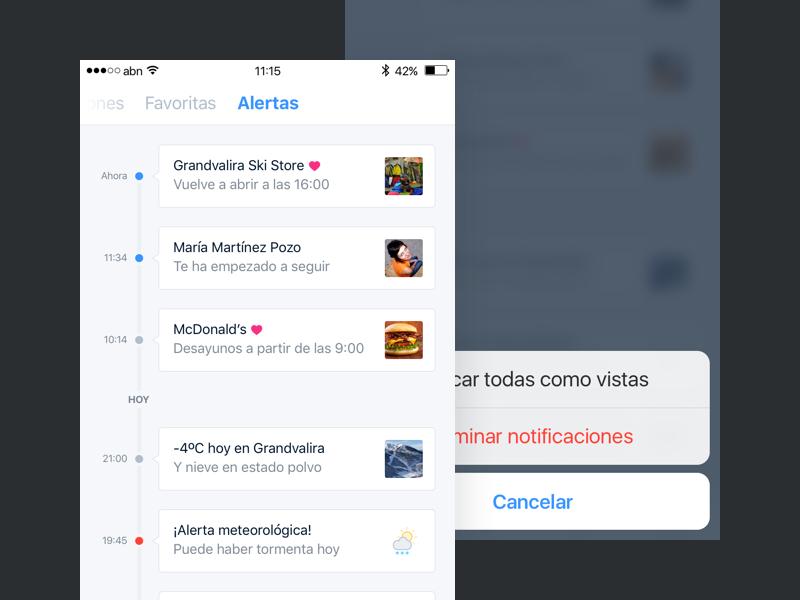 Snowcheck –Notifications and alerts comments profile register login grid tripadvisor foursquare snowforecast snow iphone ios snowcheck