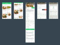 Recipes app concept fullview