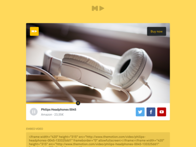 TheMotion webapp – Videoplayer