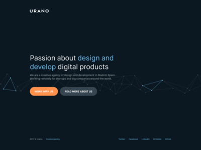 Urano Studio – Provisional website