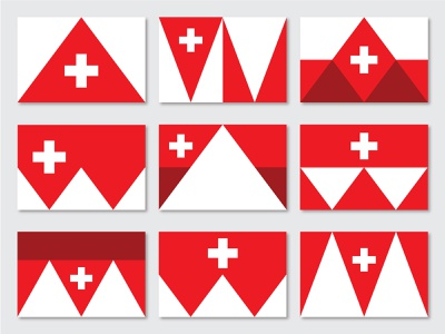 Midway Flag Concepts wasatch heber valley heber valley cross swiss cross mountains small town swiss inspired vexillology heritage switzerland swiss mountain flag design flag utah midway