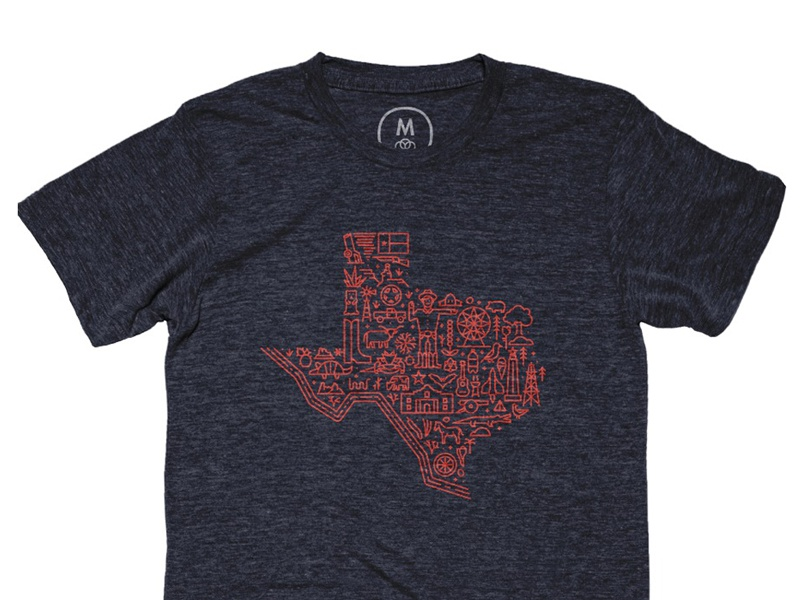 Map of Texas lone star relief houston ranger harvey hurricane boot cowboy alamo icon texas map