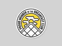 Breakfast Club Badge
