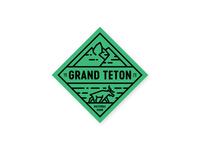 Grand Teton Badge