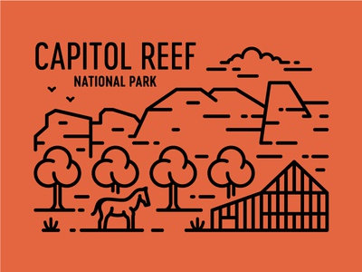 Capitol Reef Postcard