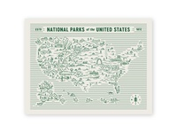 National Park Map
