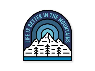 Mountain Life salt lake city utah alta ski pine tree pine life mountain mountain life