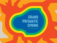 Grand Prismatic Spring Postcard