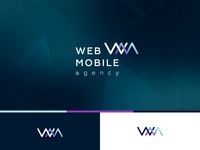 The logo for Web&Mobile agency, version 1