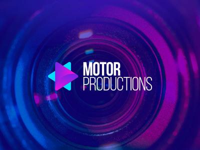 Logo for Production House. Motor Production. v.2 illustration icon vector logo logodesign graphic  design design
